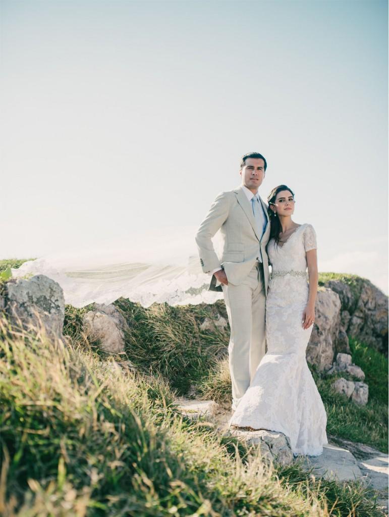 Estefanía Mendívil Wedding Day10
