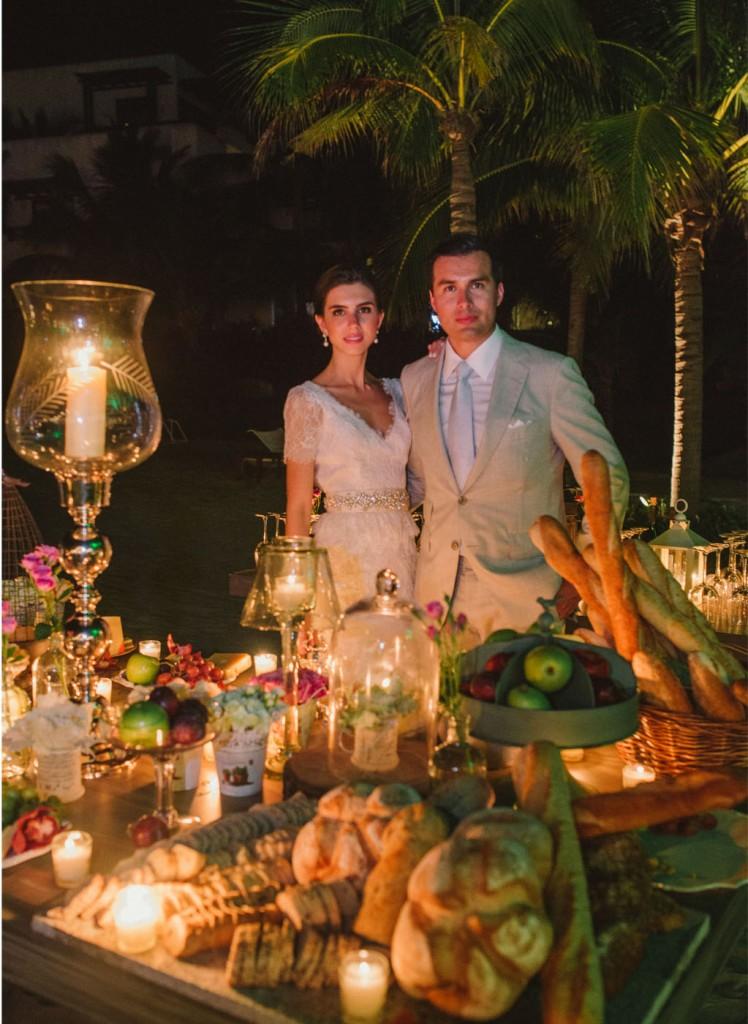 Estefanía Mendívil Wedding Day29